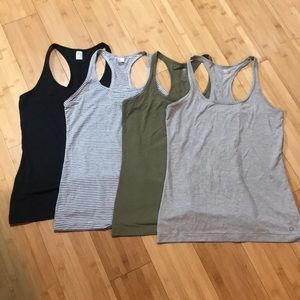 GapFit breathe racerback tanks